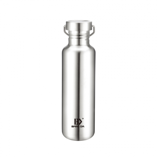 Stainless Steel Single Walled Water Bottle