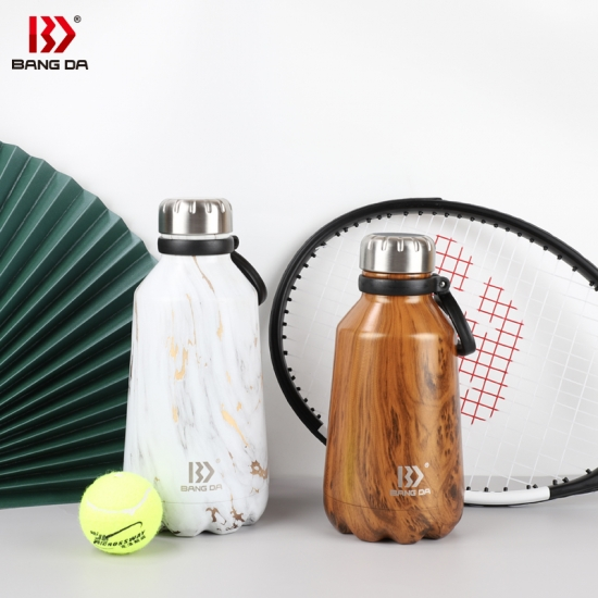 1PC Stainless Steel Double Wall Vacuum Insulated Bottle Water Flask Sport Bot~GN