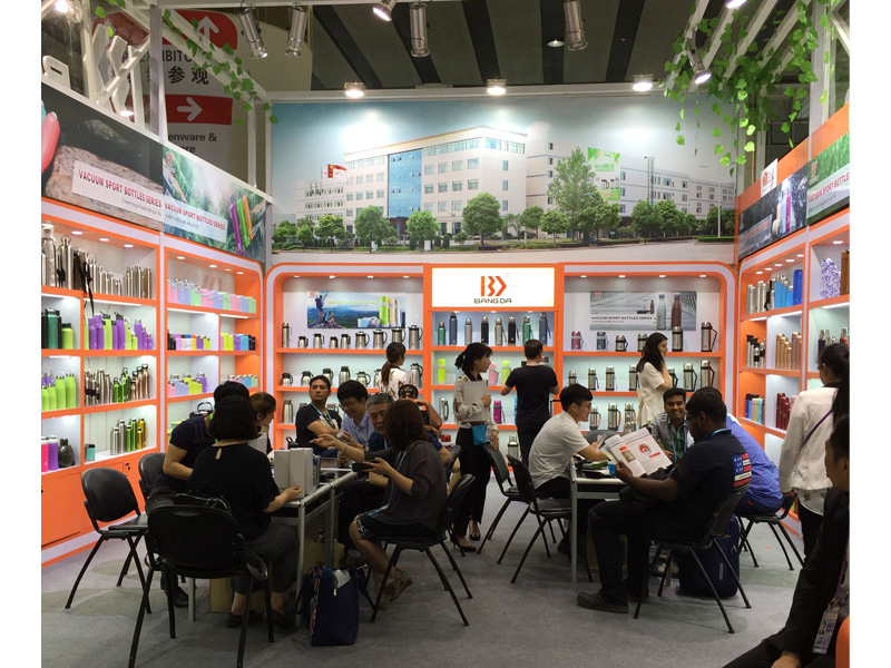 Bangda export department attended the 121th  Canton Fair at Guangzhou